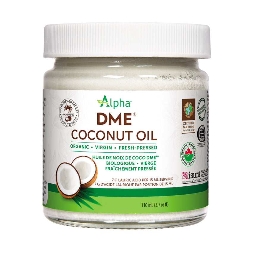 Alpha DME Coconut Oil, 110ml jar