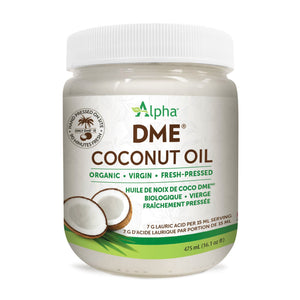 Alpha DME Coconut Oil, 475ml jar