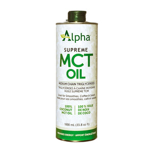 Alpha Supreme MCT Oil, 1000ml size