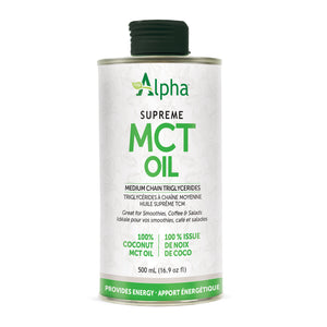 Alpha Supreme MCT Oil, 500ml size