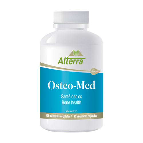 Bottle of Alterra Osteo-Med capsules