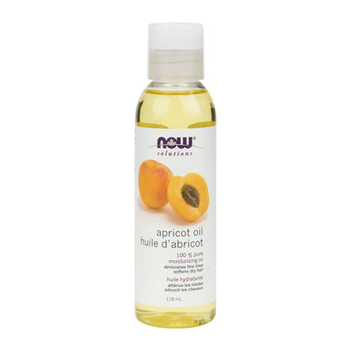 118 ml Bottle of NOW Apricot Oil