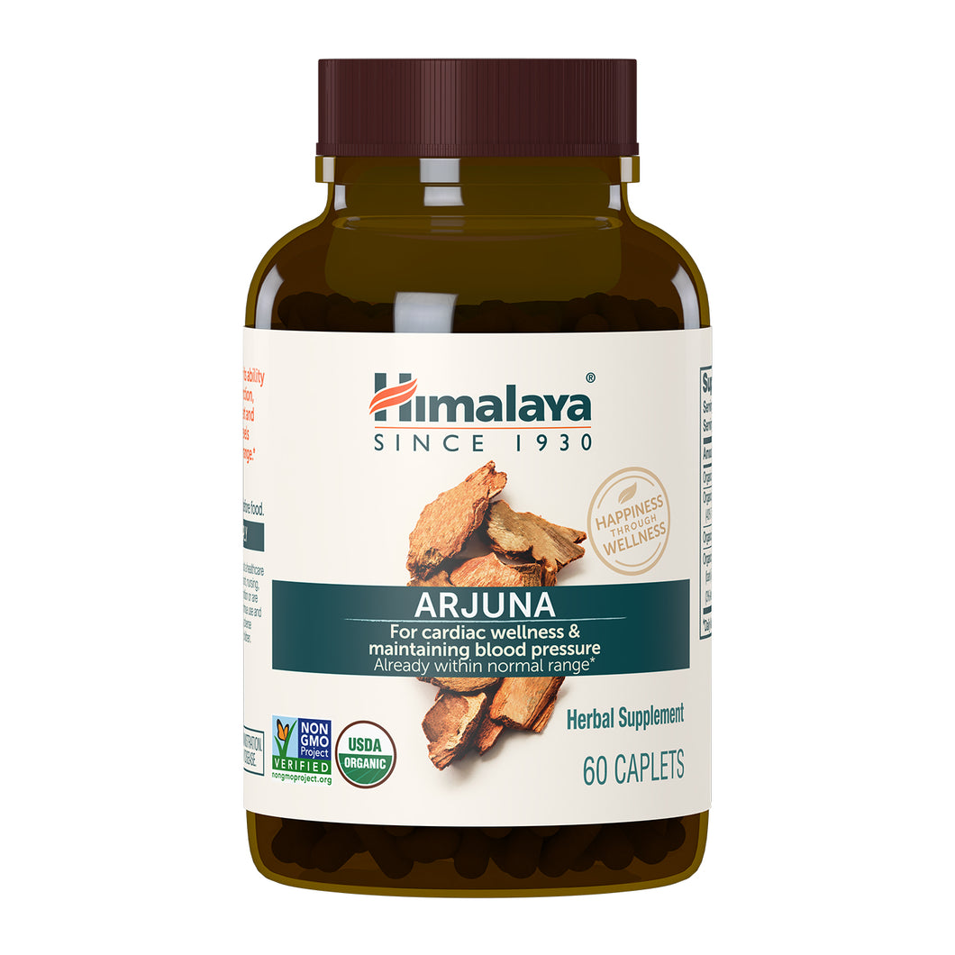 Himalaya Arjuna, in new glass bottle and with new label