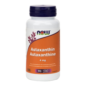 NOW Astaxanthin, 4mg Strength, 90 capsules