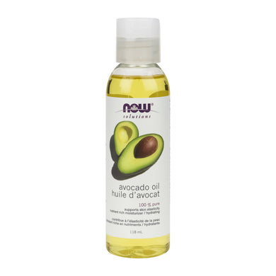 118 ml Bottle of NOW Avocado Oil