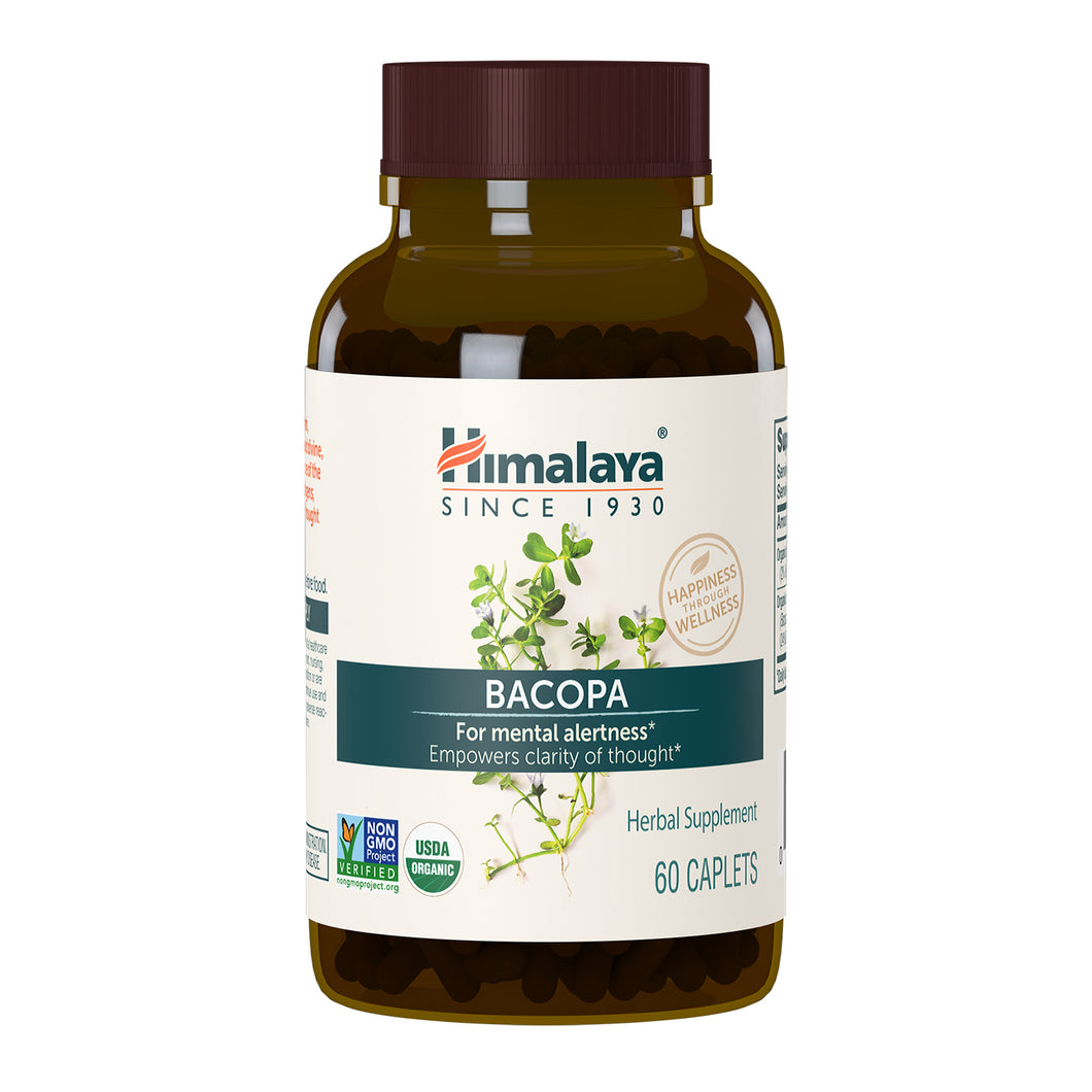 Himalaya Bacopa, in new bottle and label style