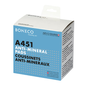 Boneco A451 Anti-Mineral-Pads, latest packaging