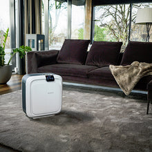 a Boneco H680 Hybrid in a living room