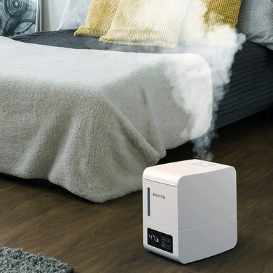 Boneco S250 Humidifier in operation in a bedroom