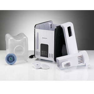 Comppnents of the Boneco S450 Steam Humidifier