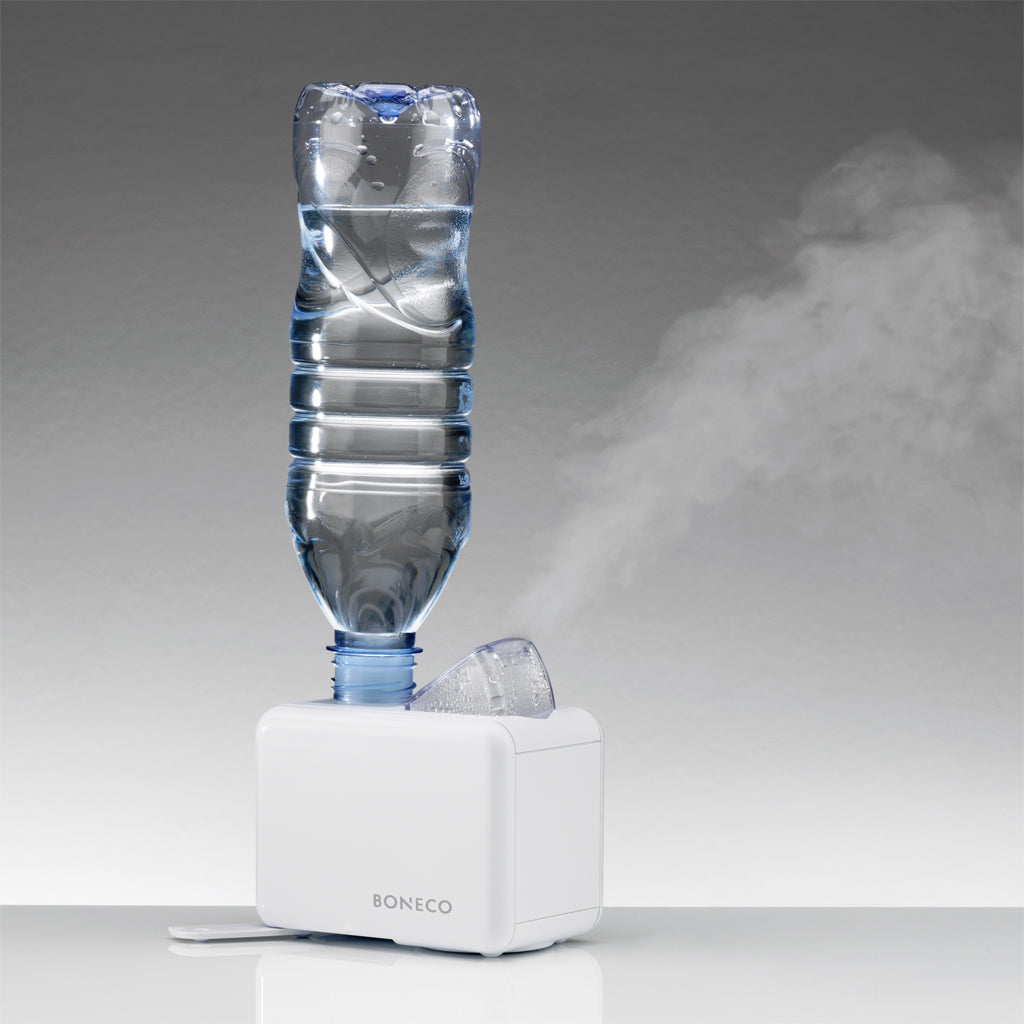 Boneco Ultrasonic Travel Humidifier in operation