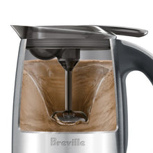 Cutaway of the Breville The Hot Choc and Froth showing magnetic whisk in operation