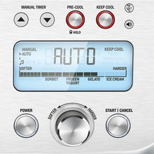 Load image into Gallery viewer, Close-up of control panel of Breville The Smart Scoop