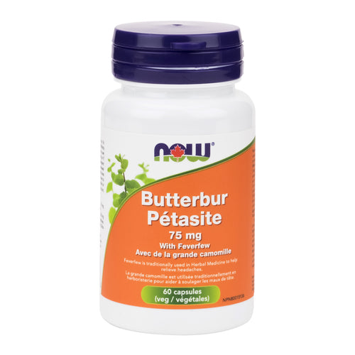 NOW Butterbur Extract with Feverfew
