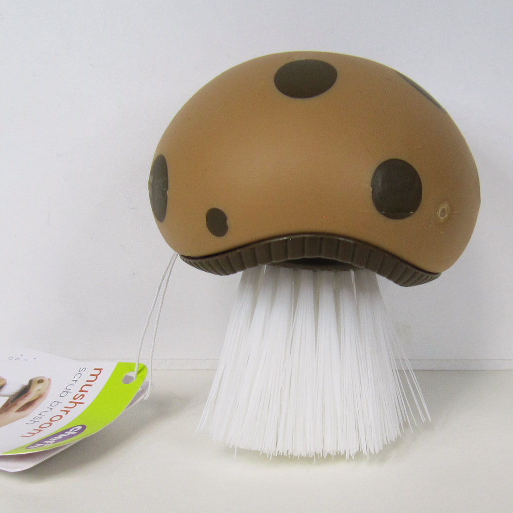 Chef'n Mushroom Scrub Brush with tag