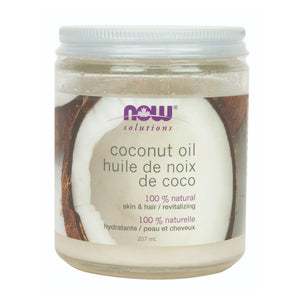 207 ml Jar of NOW Coconut Oil