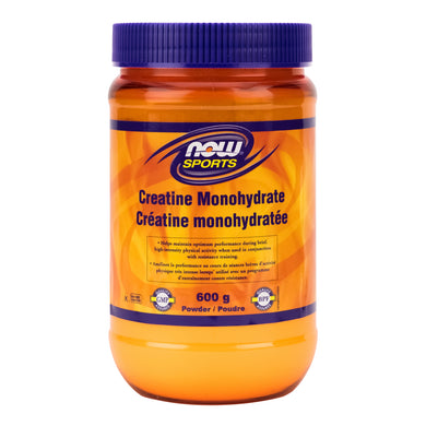 NOW Sports 600g Jar of Creatine Monohydrate