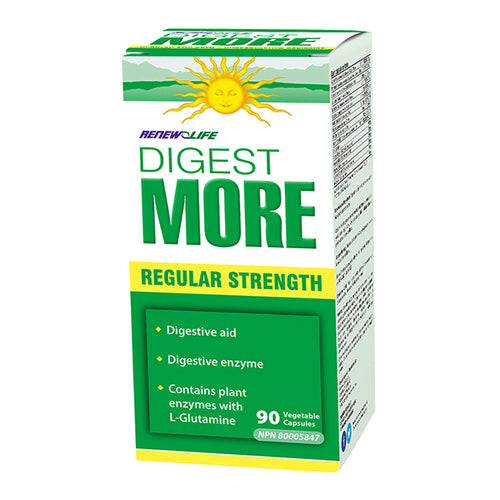 Renew Life DigestMORE, Regular Strength