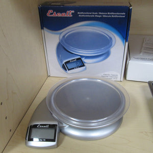 Escali Pennon Digital Scale and box on store shelf