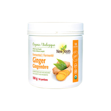 New Roots Herbal Organic Fermented Ginger