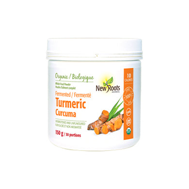 New Roots Herbal Organic Fermented Turmeric