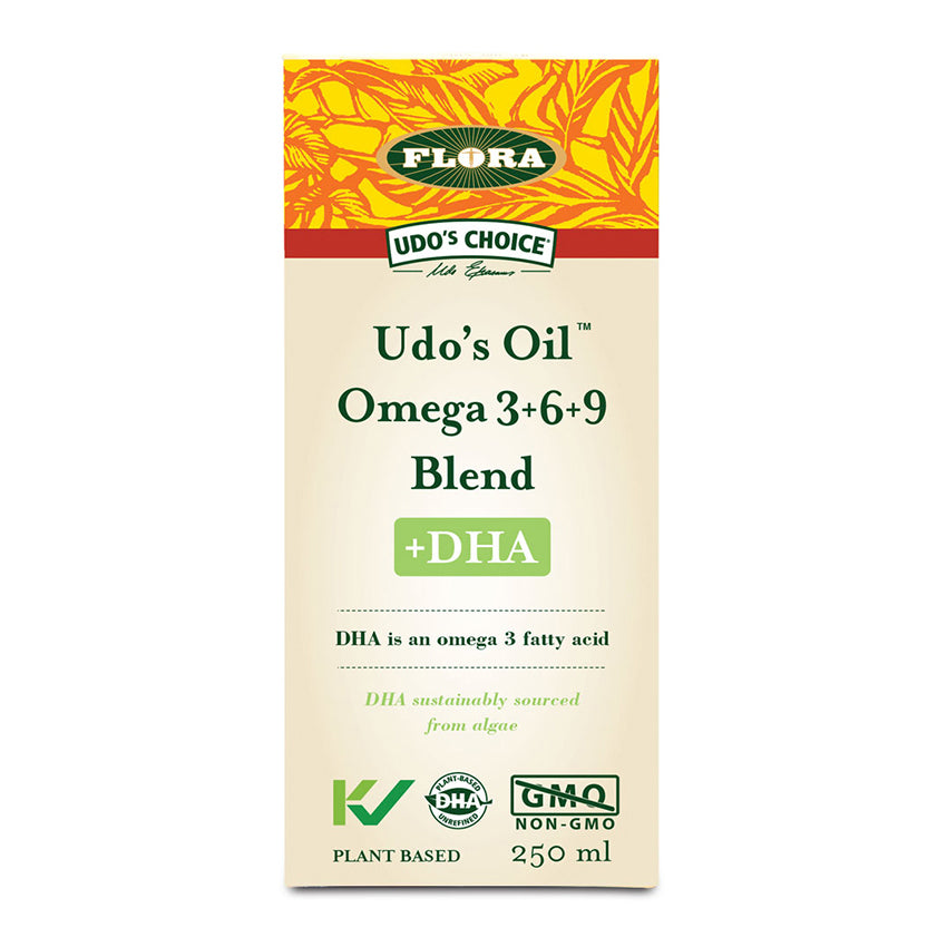 Flora Udo's Oil Omega 3+6+9 Blend, 250ml