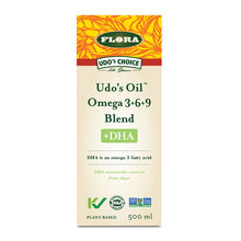 Load image into Gallery viewer, Flora Udo's Oil Omega 3+6+9 Blend, 500ml