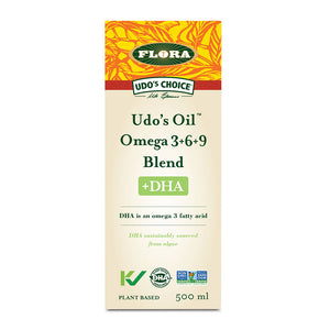 Flora Udo's Oil Omega 3+6+9 Blend, 500ml