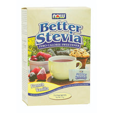 Box of French Vanilla Better Stevia packets