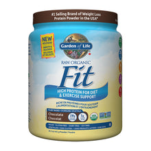 Load image into Gallery viewer, Garden of Life Raw Organic Fit High Protein Powder, Chocolate flavour