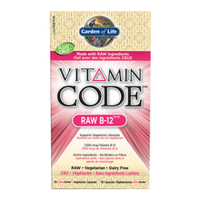 Load image into Gallery viewer, Garden of Life - Vitamin Code - RAW B-12