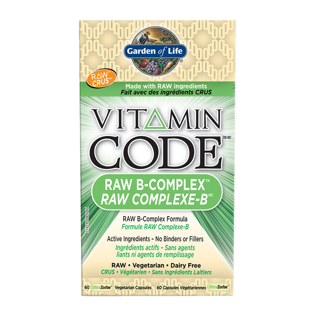 Garden of Life - Vitamin Code - Raw B-Complex
