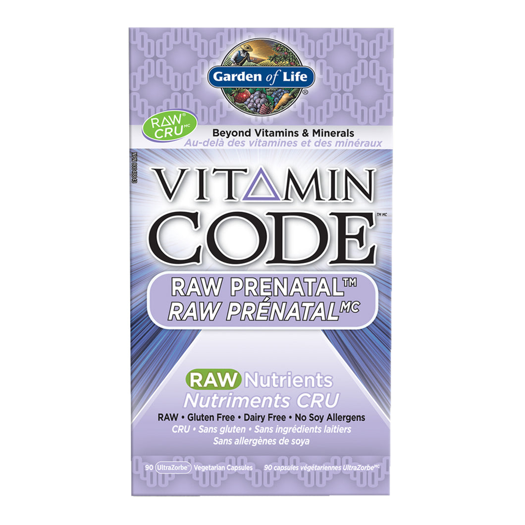 Garden of Life - Vitamin Code - Raw Prenatal