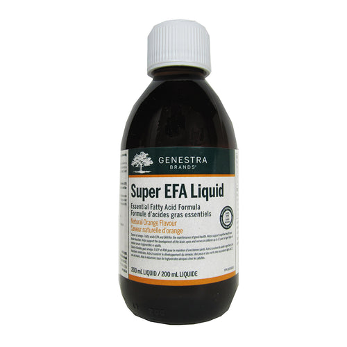 200ml Bottle of Genestra Super EFA Liquid (Orange Flavour)