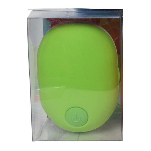 Good Vibes Brush Scalp Massager, in Green