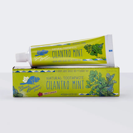 Green Beaver Natural Toothpaste, Cilantro Mint