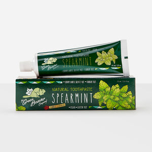 Green Beaver Natural Toothpaste, Spearmint
