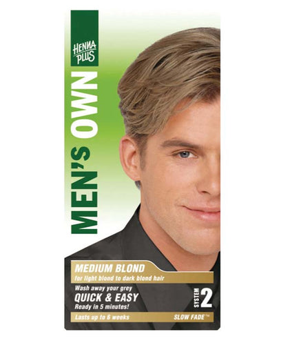 Mens Own Medium Blond
