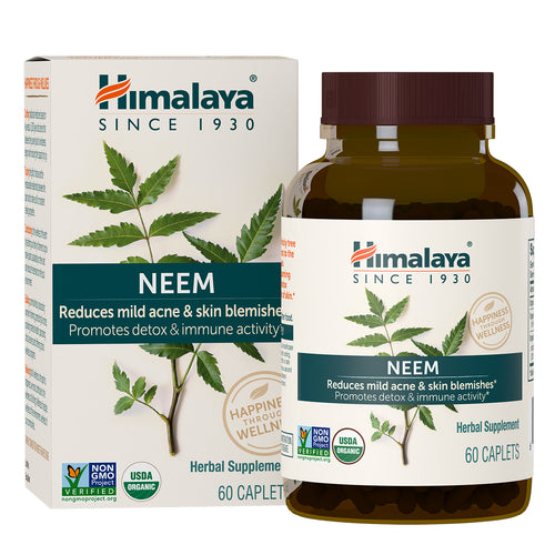 Himalaya Neem, box and bottle
