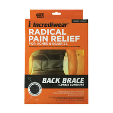 Load image into Gallery viewer, Package for Incrediwear Back Brace
