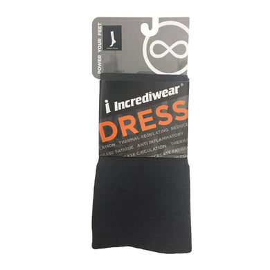 Package for Incrediwear Dress Socks, Knee High, Charcoal Grey
