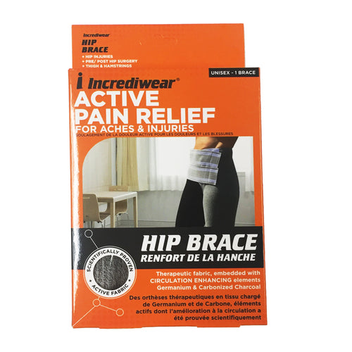 package for Incrediwear Hip Brace