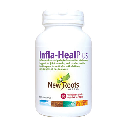 New Roots Herbal Infla-Heal Plus, 90 capsules