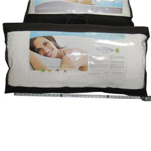 Front of package for King Sized PureCare Plush Down Light Pillow