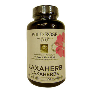 Wild Rose Laxaherb, 100 tablet bottle