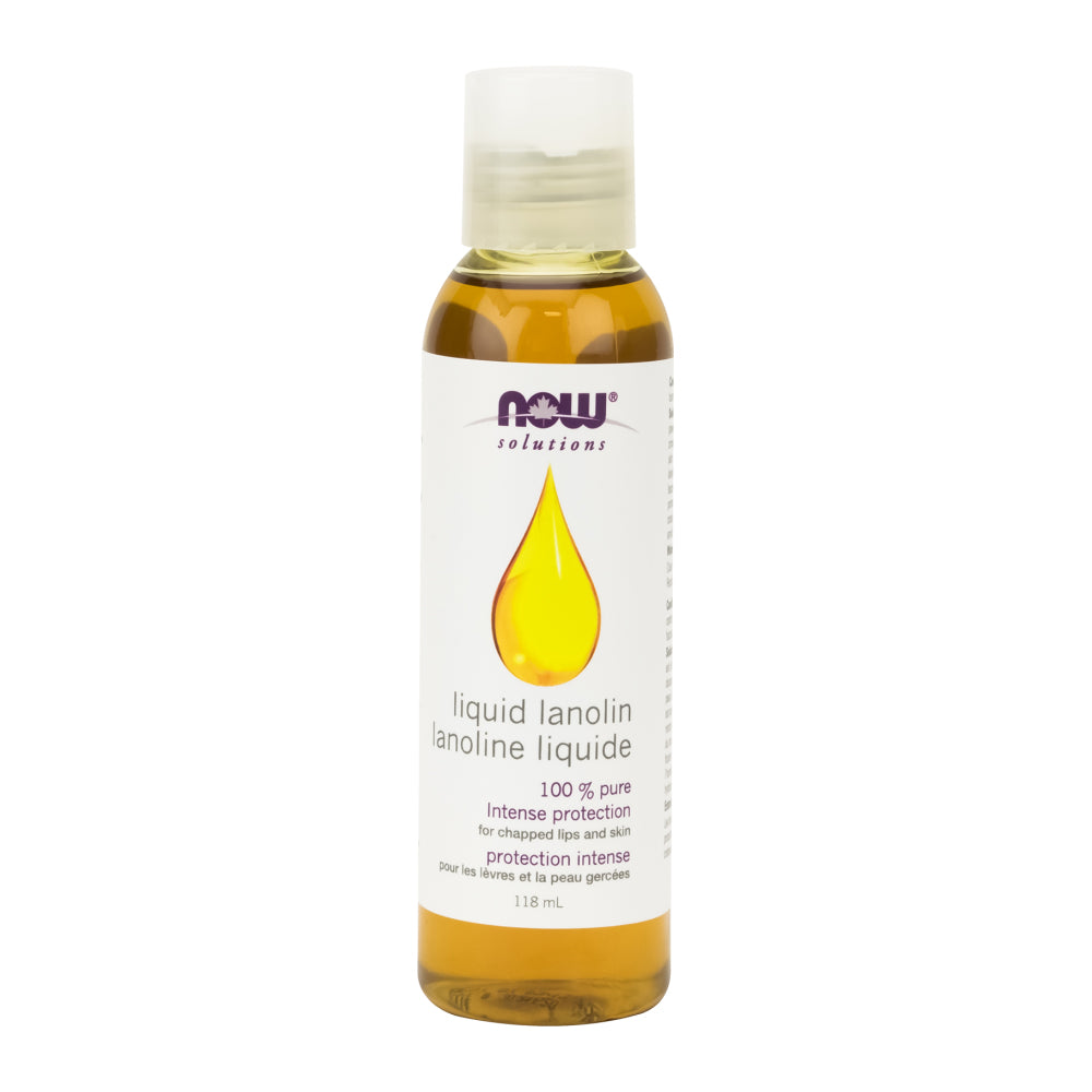 118 ml Bottle of NOW Liquid Lanolin