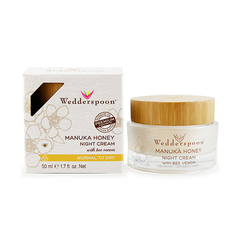 Wedderspoon Manuka Honey Night Cream with Bee Venom