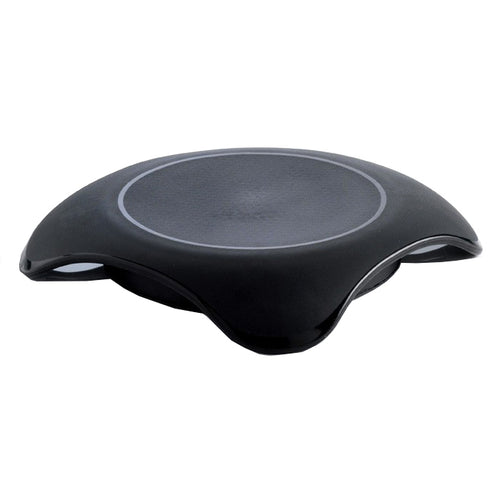 Mastrad Magma Microwave Hot Plate, in black