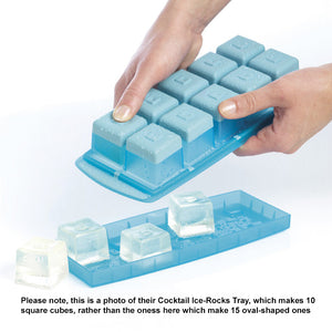 Removing Ice Cubes from a similar type of Mastrad Ice-Cube Tray