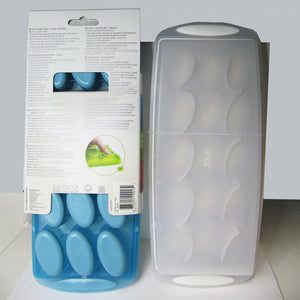 Blue and White Ice-Cube Trays by Orka / Mastrad